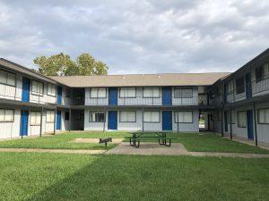Blue Apartment Property